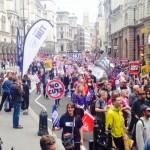 【大手メディアは報じない】6月20日(英)ロンドンで数万人の反緊縮デモ。「社会保障費を年2兆円以上削減する方針」に対して。
