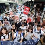 【関西で学生が旗揚げ】6月21日関西の学生ら2200人が京都で戦争法案反対デモ。京都で反戦への狼煙を上げる!