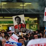 【大観衆】6月27日渋谷ハチ公前で数千人規模の戦争法案反対デモ!野党議員もスピーチ。