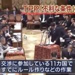 【TPP】⇒やった!ランチが200円に!⇒危険な食材なので病気多発!⇒手術・薬の値段は数倍に!⇒医療が受けられず死亡!