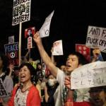 【先週の5倍】7月10日(金)国会前戦争法案反対デモに1万5000人が参加!次回は強行採決が予想される7月15日(水)午後6時半!