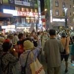 8月7日・8日・9日の全国各地の戦争法案反対デモの模様
