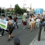 8月14日・15日・16日に行われた全国各地の戦争法案反対デモの模様