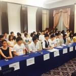 明日の8.30決戦に向けて「戦争法案に反対する全国若者記者会見」が行われました