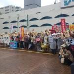 【地元でも】8/29安倍総理のお膝元山口県で9カ所一斉戦争法案反対デモ!2000人が参加!