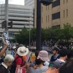 9/16(水)13時~地方公聴会&採決阻止!横浜地方公聴会緊急抗議行動の様子
