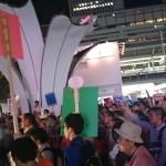 【東海に点火!】9/13シールズ東海:名駅(めいえき)西口街宣アピールに1500人が参加!参加者「元気もらった」の声