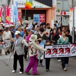9月19日(土)20(日)21(月)22(火)23(水)の全国各地の戦争法反対デモの様子