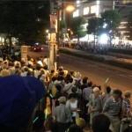 9/4JR大宮駅西口で15000人が戦争法案反対!地元市民驚愕の光景「大宮駅にこんなに人が集まってるの初めて見た」