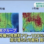 【ウソの国】福島第一原発2号機の核燃料70%~100%がメルトダウンしていたことが判明!