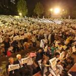 10月2日(金)3日(土)4日(日)に行われた安倍政権反対デモの様子