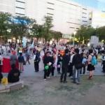 10月24日(土)25日(日)に行われた安倍政権反対デモの様子