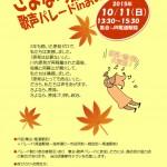 10月9日(金)10日(土)11日(日)12日(月・祝)の安倍政権反対デモの予定