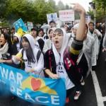 11月6日(金)7(土)8(日)に行われた安倍政権反対デモの様子