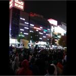 11/14シールズ東海街宣に3500人が参加!雨にもかかわらず名古屋駅前街宣では過去最大の参加人数!