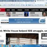 【暴露】米新聞ワシントン・タイムズ「アメリカ政府はIS(イスラム国)を支援している。ISに対抗しているという政府の主張を信用してはならない」