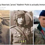 【不死身】ロシアのプーチン大統領が伝説上の生き物であることが証明される「私たちの惑星に数百年、ひょっとしたら数千年住んでいるのではないか」