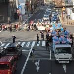 2月28日(日)シールズ東海デモに1500人が参加!大須の商店街を横切り大注目を浴びる!