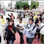 【1万人】2月14日のバレンタインデーに安倍政権反対デモが渋谷で行われる。シールズ牛田氏「社会運動は10回に9回は失敗するが諦めないことが大切」