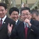 【大事件発生!】民進・前原誠司議員と共産・小池晃議員が北海道5区補選の応援演説でいっしょに街宣カーの上に立つ!