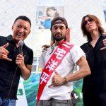 【カッコいい】X JAPANのSUGIZOさん「『音楽に政治を持ち込むな』なんて糞喰らえ!ロックは社会と共にある。」 参院選・東京で立候補した三宅洋平氏応援にて
