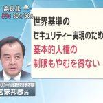【ヤバすぎ】東京五輪のテロ対策として、宮家邦彦氏「基本的人権の制限も必要」フジ・平井文夫氏「ある程度、監視社会にしないと」