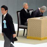 【安倍流】東亜日報「日本国王『深い反省』述べるも…安倍首相は4年連続で『反省』に言及せず」