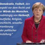 【トランプへのメッセージ】ドイツ・メルケル首相「差別の禁止、民主主義、自由、人権尊重などの原則を守ったら付き合ってあげます」安倍総理「あなたの勝利はアメリカンドリームだ」