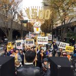 【これじゃいつまでも社畜】「最低賃金を1500円に」デモ!たった400人しか集まらず!ブラック政府・ブラック企業の思う壺ww