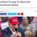 【マスメディア死亡確定!】トランプ次期大統領は国政に関する発表をツイッター・フェイスブックなどで行うとのこと!