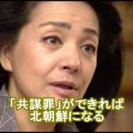 【あの】櫻井よしこさんが共謀罪に反対していたことが判明!「日本が北朝鮮になる、暗黒社会になる」