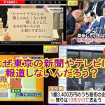 政界地獄耳「首相の疑惑追及なぜ伸び悩む」リテラ「大阪ではニュースに」東京新聞佐藤記者「社会部や政治部は関心がない」