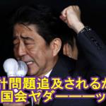 【憲法違反】自民党「安倍総理が加計の追及嫌がるから臨時国会は開きません」