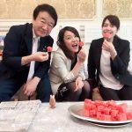 2017/06/16(金)プチニュース「おはようございます!甘いスイカは朝ご飯です(笑)今日も一日がんばりますっ!」など