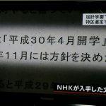 2017/06/19(月)プチニュース「クロ現(NHK)が加計新文書を入手!」「この政権の誰も信用ならない。もはや関係者全ての証人喚問、この道しかない。(おざーさん)」