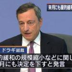 【超重要】欧州中央銀行が「量的緩和策」を縮小へ!米国に続き「正常化」に向かう!残るはアベノミクス・ジャパンだけに!