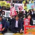 【確かに】ソウルで反トランプデモ!共同通信・太田氏「韓国の民主主義は多様な意見が反映され日本ではない光景。我々は学ぶべきことがある」(モーニングショー)