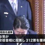 【反安倍派は完全敗北】第4次安倍政権発足!全閣僚の再任を正式発表!