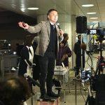 2017/12/01(金)プチニュース「山本太郎の演説に通りがかった。いまの狂った安倍政権と比べて言ってることがまともすぎて、嬉しくて涙がでた」など