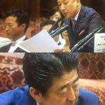 【膿はあなた自身です】山本太郎議員が国会で直接、安倍総理に最終宣告!